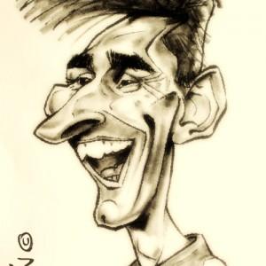 Caricaturas Barcelona - Messi