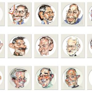 Caricaturas Gipuzkoa Donostia en vivo de-grupo-2