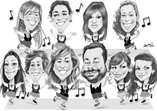 caricatura-digital-de-grupo-12