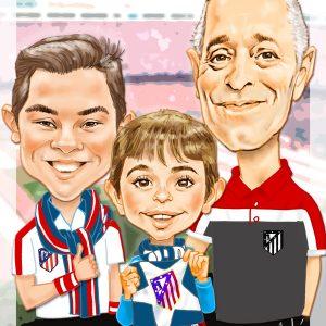 Caricaturas de jubilados - Atleticos