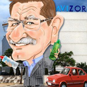 Caricatura promocional empresa 12