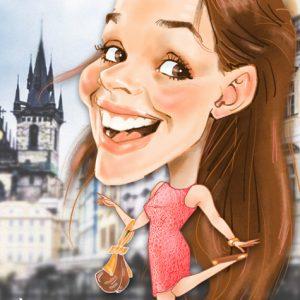 Caricatura-digital-personalizada-Denisa