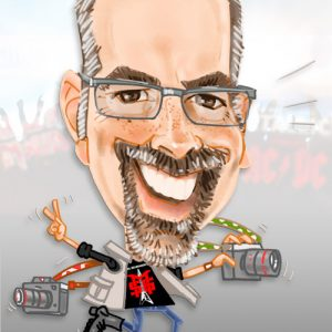 Caricatura promocional empresa 5