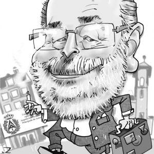 Caricatura de calidad -personalizada-jubilado-de-aparejadores1
