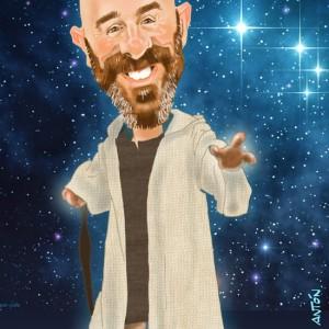 Caricatura-digital-personalizada-Maestro-Jedi