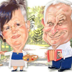 Caricaturas de jubilados - artistas