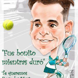 Caricatura-digital personalizada-profesor de tenis