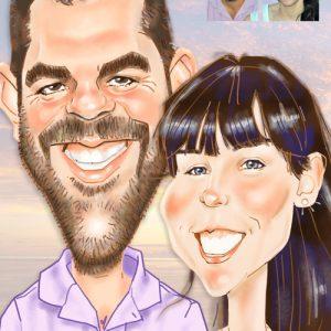 Caricatura-digital-personalizada_pareja