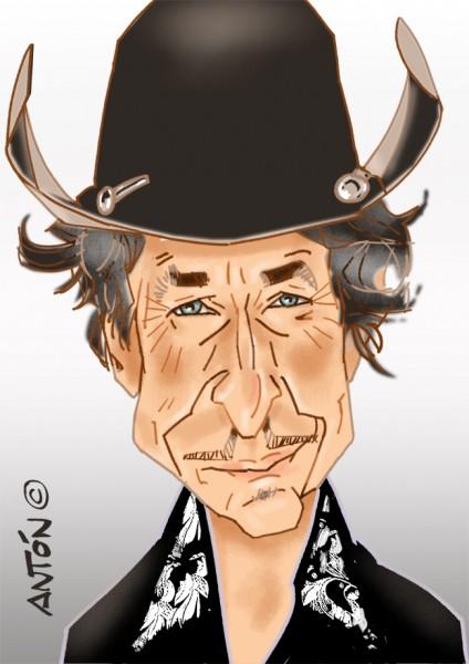 Caricatura_Digital_Bob_Dylan