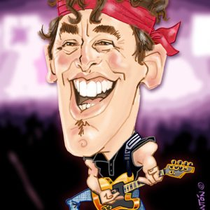 caricatura_digital_bruce-springsteen
