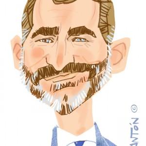 Caricaturas por encargo Rey Felipe VI
