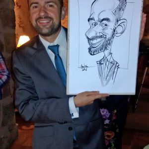 Caricaturas en Vivo Madrid 3