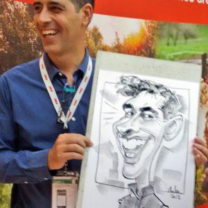 Caricaturas para eventos 7